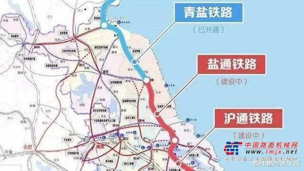 盐通铁路如皋段正式铺轨!2020年底前与盐通铁路同步建成通车