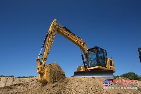 卡特彼勒在欧洲推出搭载新一代技术的313挖掘机