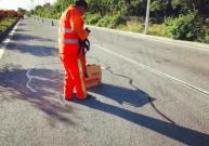 公路裂缝贴缝带让生活中的上海路面裂缝修补不再繁琐