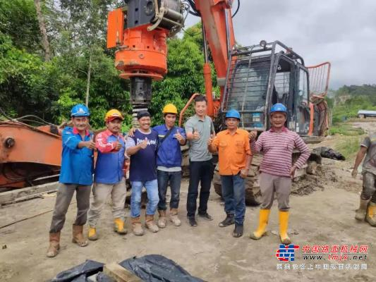 泰信模块式旋挖批量出口印尼市场