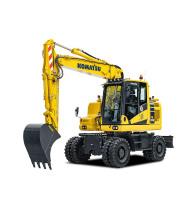【海外新品】小松欧洲推出新型PW158-11轮式挖掘机
