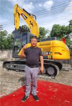 安徽黄山汪老板:玉柴挖掘机售后服务是行业最棒的!