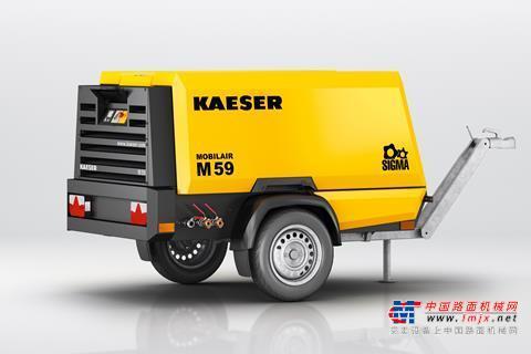 【海外新品】凯撒推出M59新型移动式空气压缩机