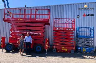 临工重机签约Peinemann Mobilift集团为其荷兰经销商