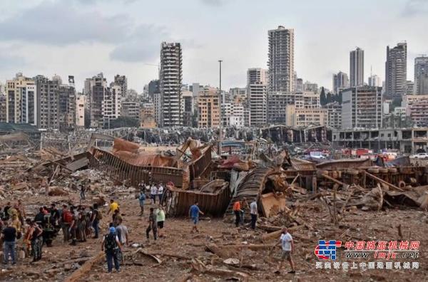 山猫助力黎巴嫩灾后重建