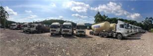 再次一次性买70台 华菱星马散装水泥车硬核品质征服梅州老客户