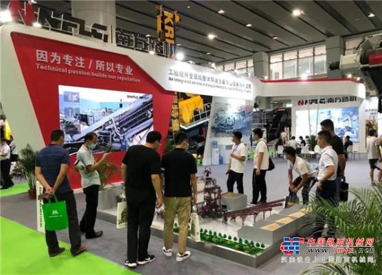 南方路机精彩亮相第六届广州国际砂石展