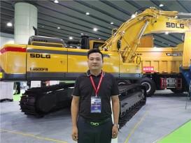 耀沃机械李桥兵:依托山东临工品牌  为用户提供一体化施工解决方案