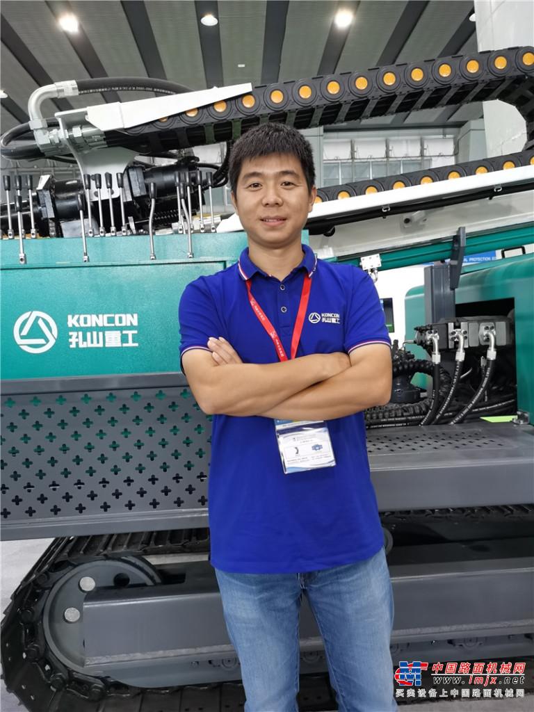 孔山重工副总经理刘刘运昌:把握重点市场  做专做精优势产品