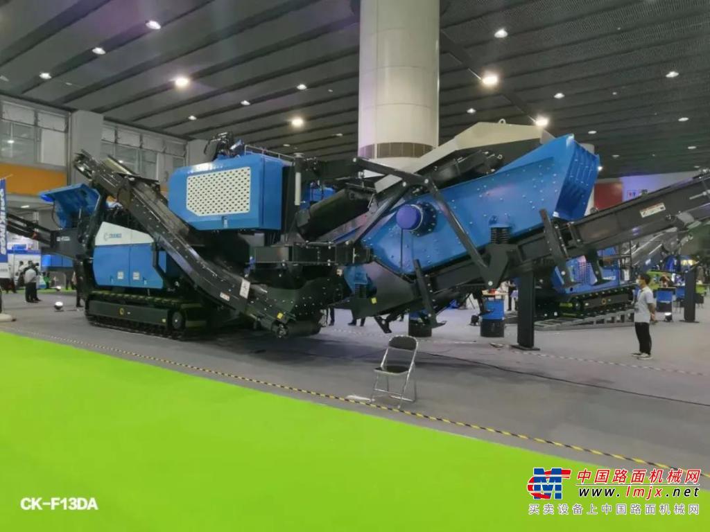 广西柯瑞机械设备有限公司精彩亮相广州砂石展