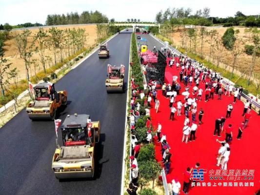 三一智能化路面机械设备助力国家高速公路建设自主化