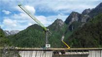 意大利疫后复工中国力量:中联重科精准交付塔机助力卡祖尔水坝建设