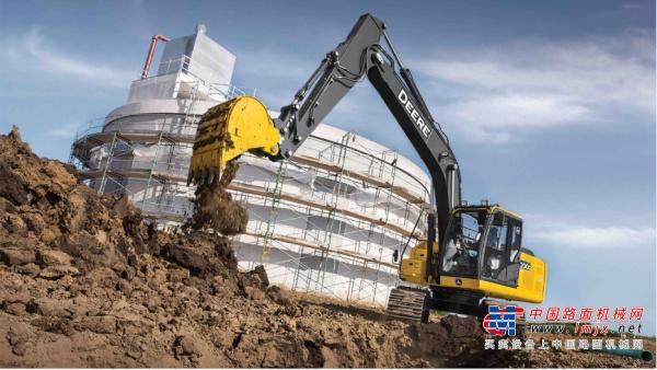 【海外新品】约翰迪尔推出全新200G机型  扩大挖掘机产品阵容