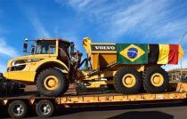沃尔沃建筑设备将在巴西生产铰接式自卸卡车出口到欧洲