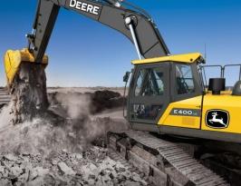 新王登基!约翰迪尔全新E400LC挖掘机正式君临矿山!