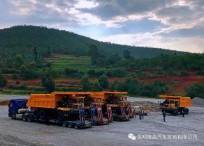 躬耕砂石,让客户用到理想产品 ——10台TL875交车,云南矿山喜迎矿运利器