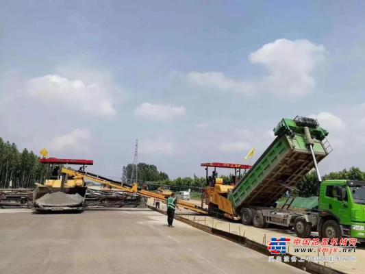 中大机械助力济宁G327改建