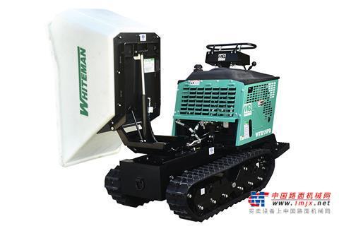 【海外新品】Multiquip公司推出新型可旋转手扶式自卸车