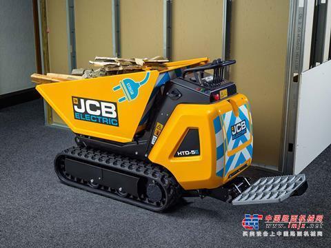 【海外新品】JCB推出HTD-5新型电动履带式运输车