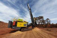 新一代安百拓爆破钻机首次被澳大利亚客户使用