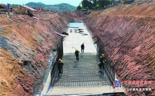 益阳高铁新城项目完成投资4000万元,完成路基工程量约70%