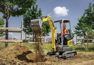 【海外新品】威克诺森推出EZ17e小型挖掘机