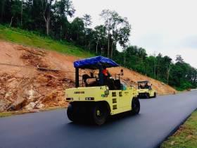 安迈压路机助力斯里兰卡项目顺利进行