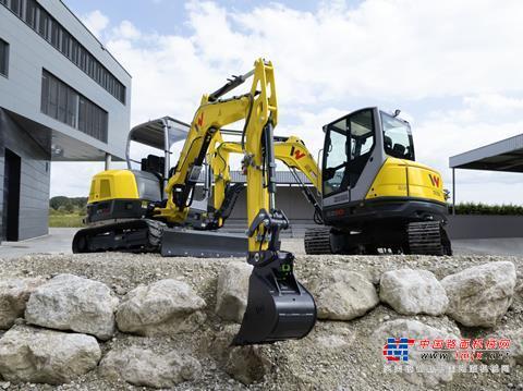 【海外新品】威克諾森在歐洲推出ET42和EZ50小型挖掘機