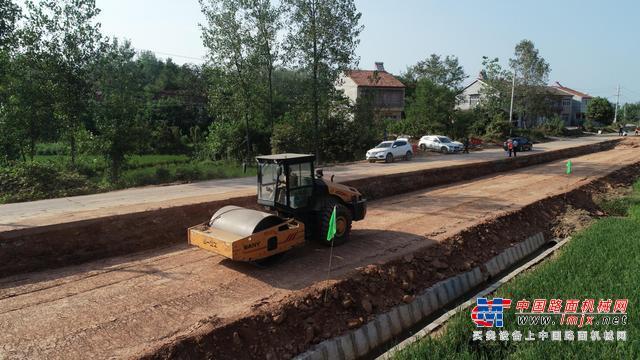 南漳县打好干线公路建设收官战