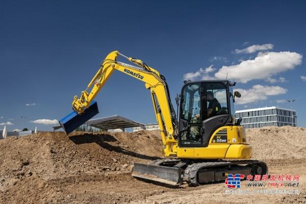 【海外新品】小松推出PC58MR-5E0小型挖掘机