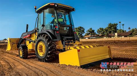 约翰迪尔的拖拉机装载机现在可以进行坡度控制