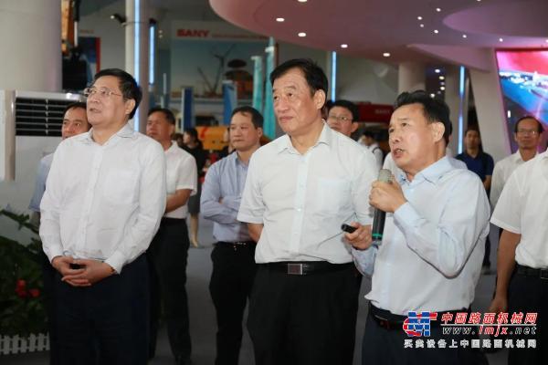 """江西省委书记刘奇:""""欢迎三一到江西去"""""""