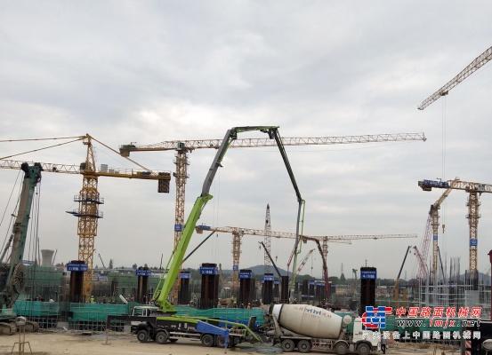 零故障连续浇筑 中联重科助力亚运会重点工程杭州西站建设