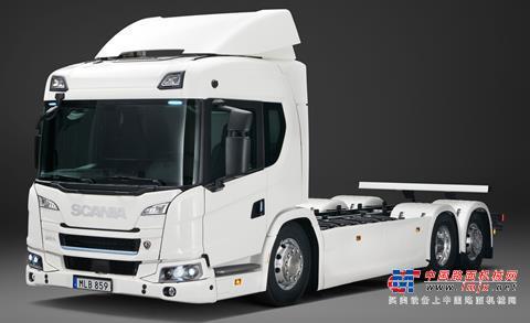 【海外新品】斯堪尼亚推出新的电动卡车