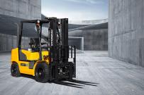 现代建筑设备获得非洲叉车订单
