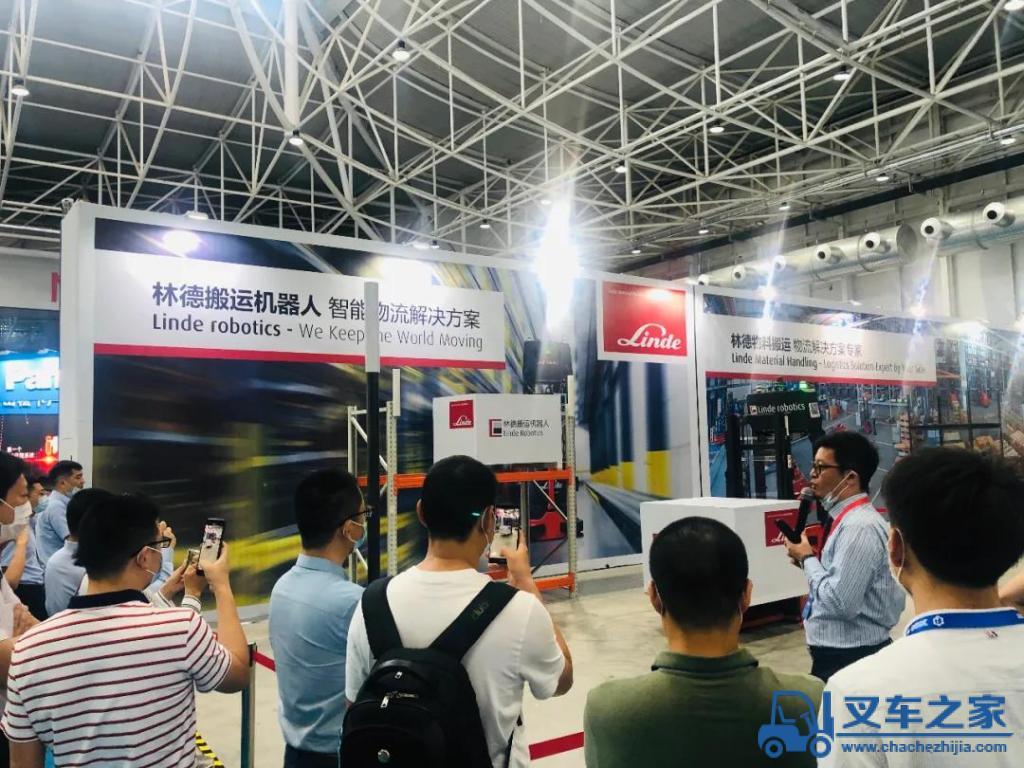 林德叉车参加2020东亚海洋博览会