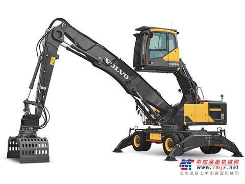 【海外新品】沃尔沃在巴西推出EW 240E MH挖掘机