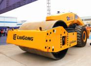 最新发布的智能无人驾驶压路机-柳工6626E有哪些看点?