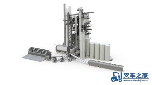安迈新技术帮助降低沥青设备运营成本