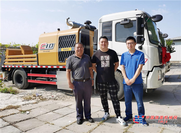 北京天慧龙达:配装沃尔沃FMX底盘的三一泵车在雄安市场大放异彩