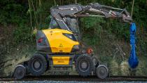 【海外新品】Mecalac推出紧凑型铁路挖掘机