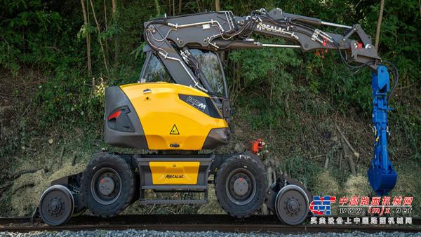 【海外新品】Mecalac推出緊湊型鐵路挖掘機
