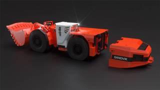 【海外新品】山特维克推出全球首台18吨电池装载机
