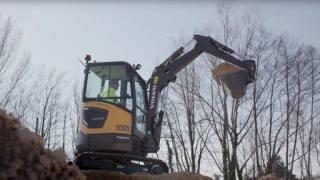 【海外新品】沃尔沃建筑设备公司推出ECR25电动挖掘机