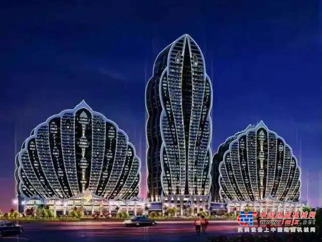 """25万方,成套三一混凝土设备助力打造西双版纳""""网红打卡点""""!"""