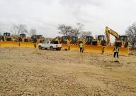 海外 | 山推东非市场顺利实现批量推土机交付