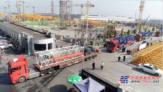 了不起的中国制造!中联重科动臂塔机出口土耳其 助建欧洲地中海最高楼