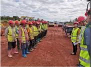 走出国门!西筑路面工程分公司首个海外项目正式开建