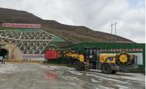 新筑智装锚杆台车助力兰张铁路项目