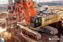 高效高质,确保桩基础质量和工程进度   恒天九五旋挖钻机浏阳河大桥施工记